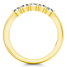 Load image into Gallery viewer, Five Stone Diamond Wedding Band Aspen