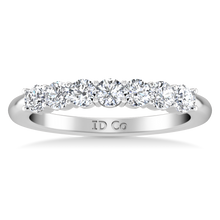 Load image into Gallery viewer, Seven Stone Diamond Wedding Band Bristol