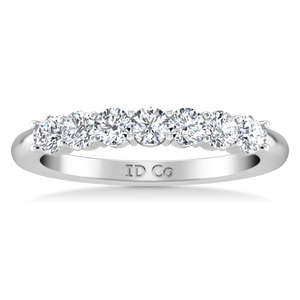 Seven Stone Diamond Wedding Band Bristol
