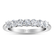 Load image into Gallery viewer, Seven Stone Diamond Wedding Band Coventry