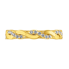 Load image into Gallery viewer, Diamond Wedding Band Willow