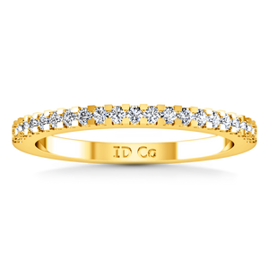 Diamond Wedding Band Lumiere