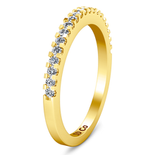 Load image into Gallery viewer, Diamond Wedding Band Lumiere