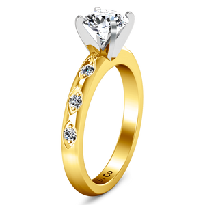 Pave Engagement Ring Jazz