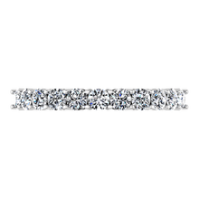 Load image into Gallery viewer, Diamond Wedding Band Fleur