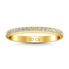Load image into Gallery viewer, Diamond Wedding Band Alana
