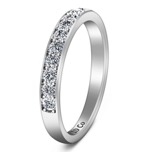 Load image into Gallery viewer, Diamond Wedding Band Carina