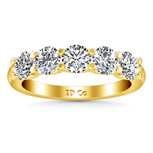 Load image into Gallery viewer, Diamond Wedding Band Jenny