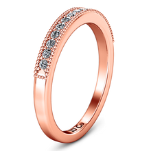 Load image into Gallery viewer, Diamond Wedding Band Tiffany