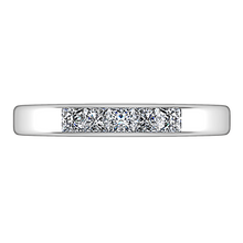 Load image into Gallery viewer, Diamond Wedding Band Abelia