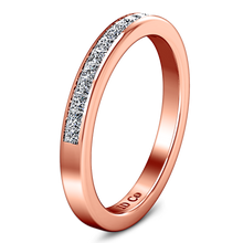 Load image into Gallery viewer, Diamond Wedding Band Amy