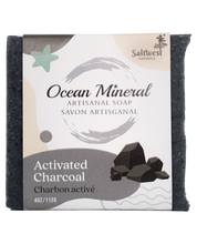 Load image into Gallery viewer, Activated Charcoal - Ocean Mineral Infused Soap