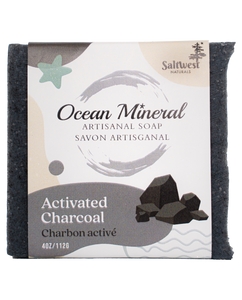 Activated Charcoal - Ocean Mineral Infused Soap