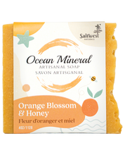 Load image into Gallery viewer, Orange Blossom & Honey - Ocean Mineral Infused Soap