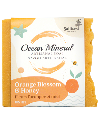 Orange Blossom & Honey - Ocean Mineral Infused Soap