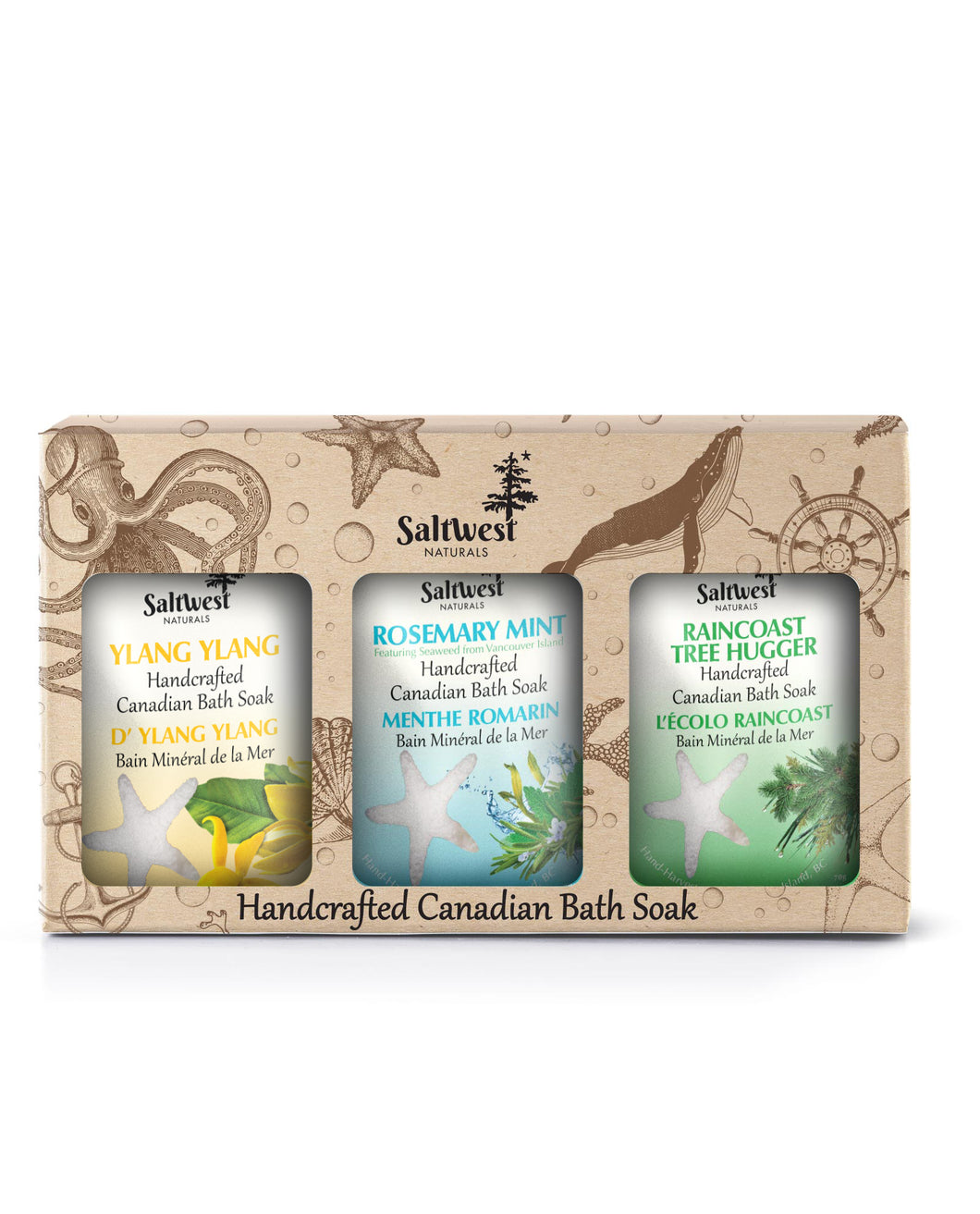 Earth & Sea Bath Gift Box