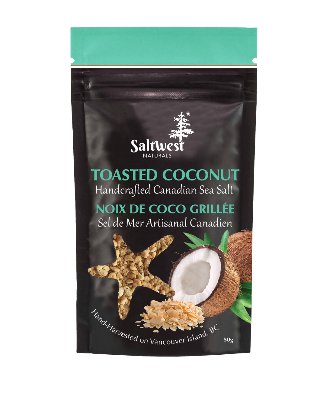 Toasted Coconut Sea Salt