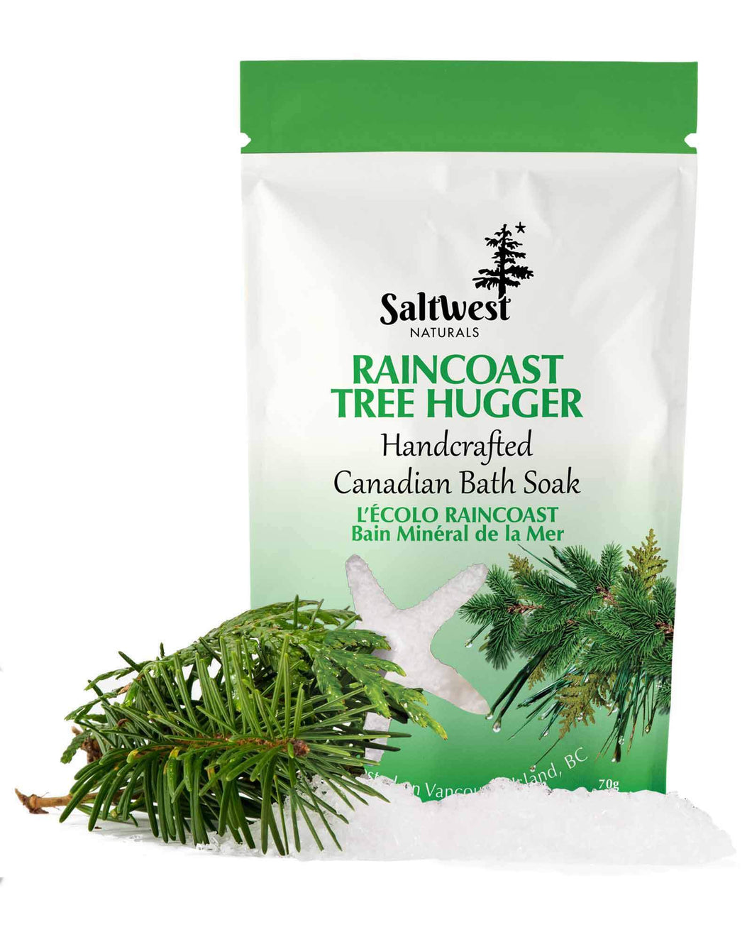 Raincoast Tree Hugger Mineral Sea Soak 70g