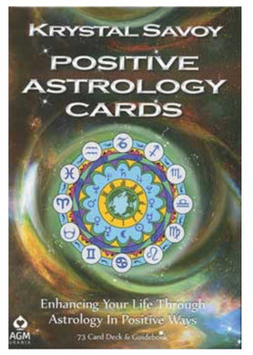 Positive Astrology Cards by Krystal Savoy