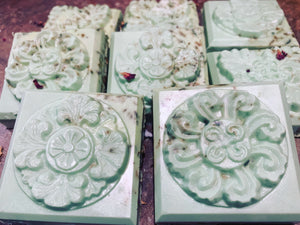 Druidess Shea Butter Soap with Roses