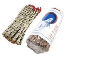 Nag Champa Tibetan rope incense 45 ropes