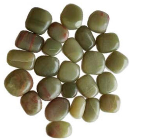 Tumbled Green Aragonite