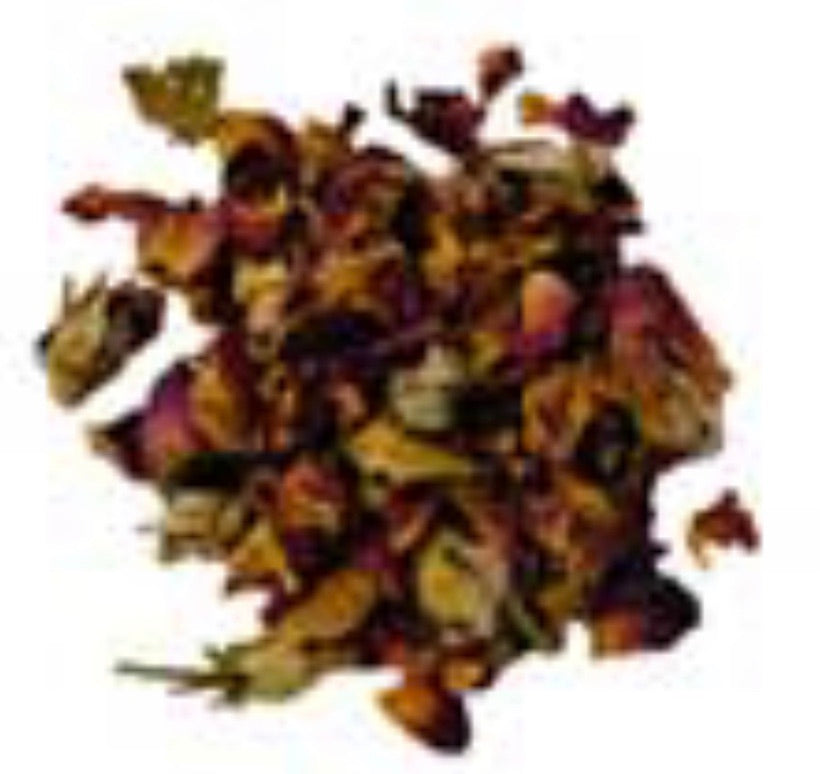 Rose Buds & Petals, Red 2oz (Rosa gallica)