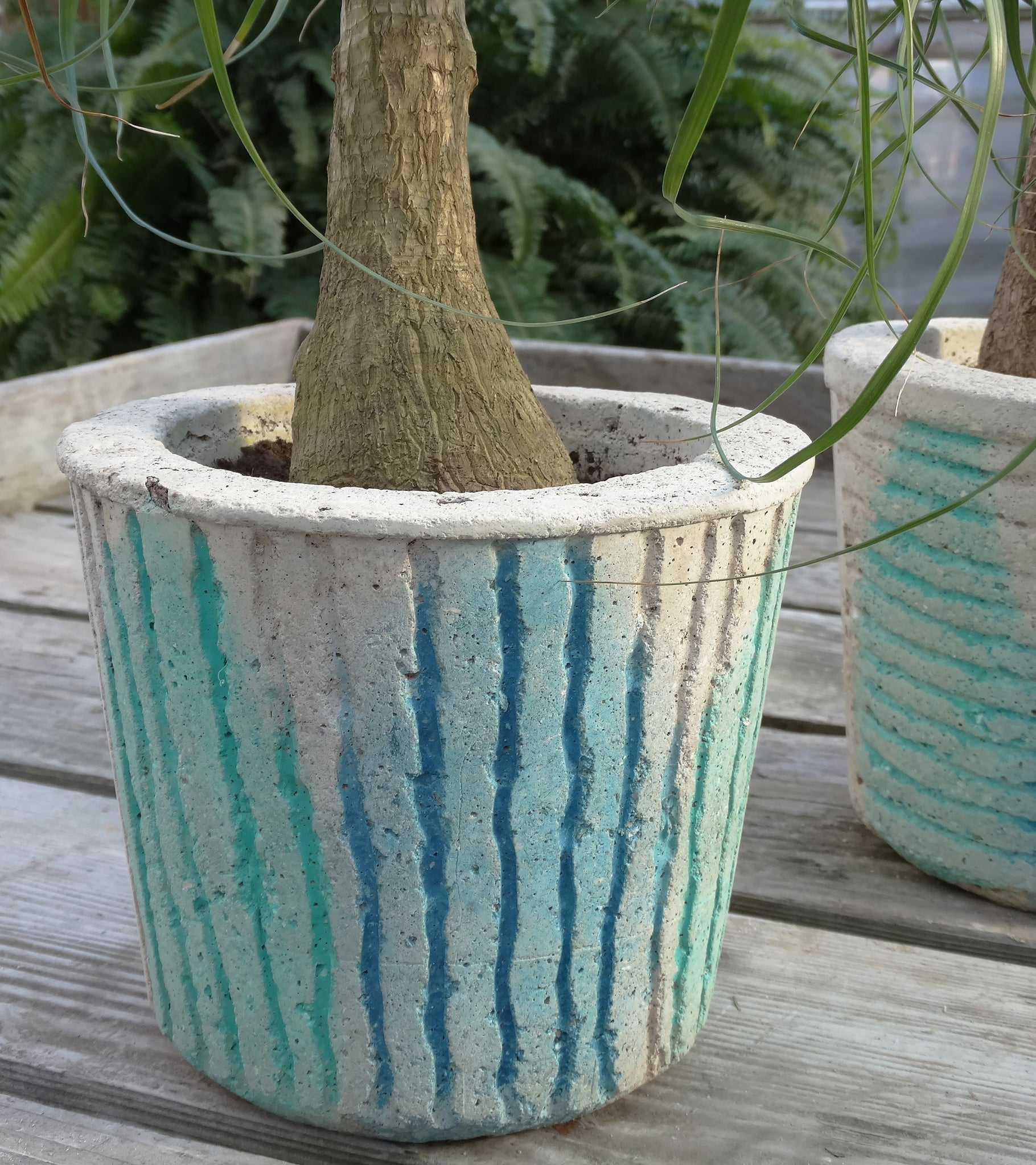 Stained Planter