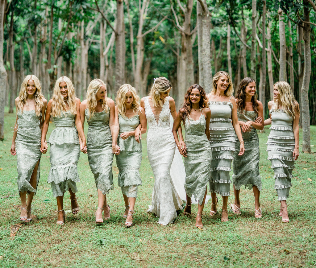 The Sage Bridesmaid Collection