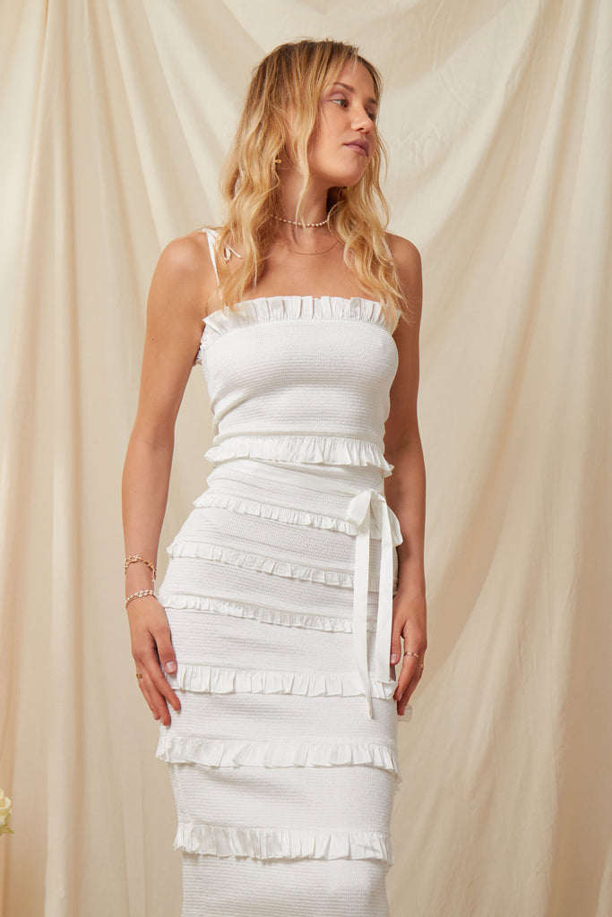 The Lily Dress in White - PRE-ORDER FOR JULY