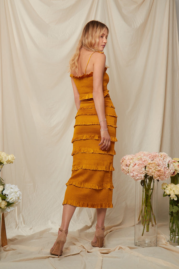 The Lily Dress in Chai Tea - PRE-ORDER FOR JULY
