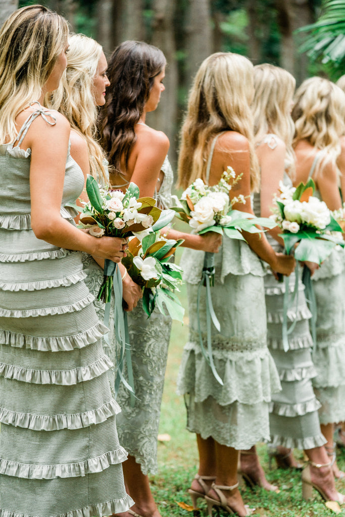 The Lily Dress in Sage