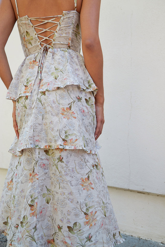 The Margherita Dress in Amalfi Garden