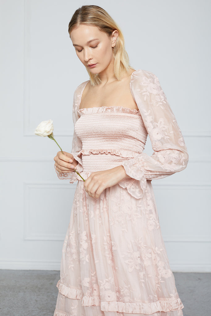 The Magnolia Dress in Rose Dust