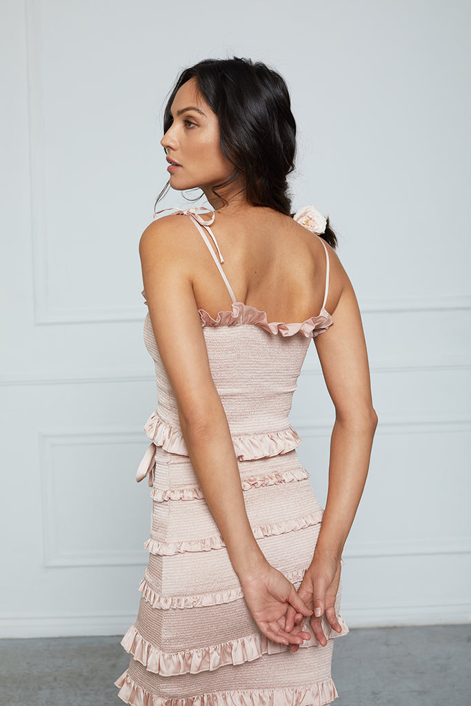 The Lily Dress in Rose Dust