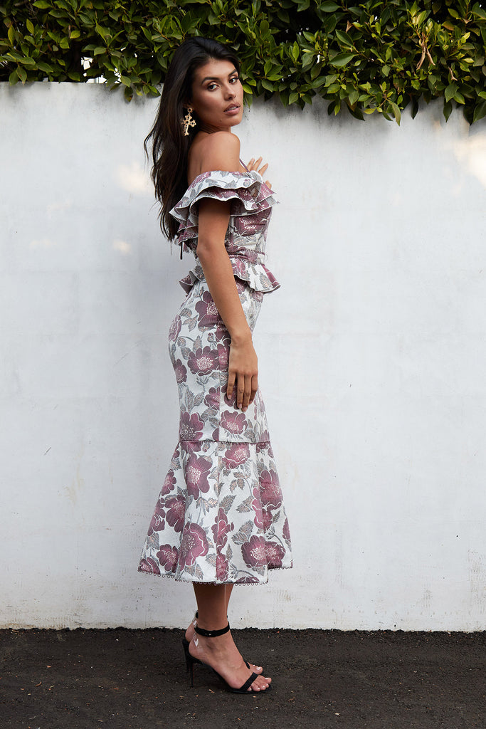 The Opera Skirt in Vienna Floral