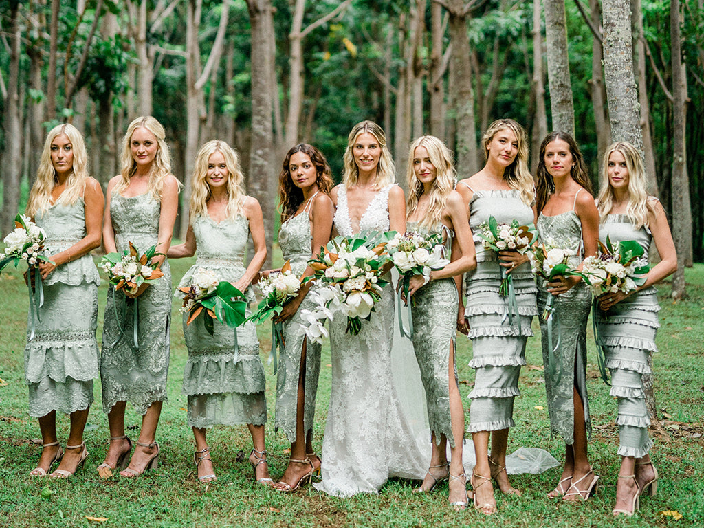 The Olivia Dress in Lace - Bridesmaid Program