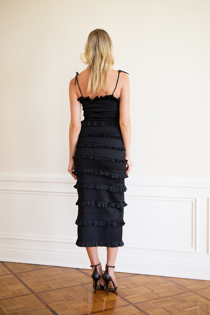 The Lily Dress in Black