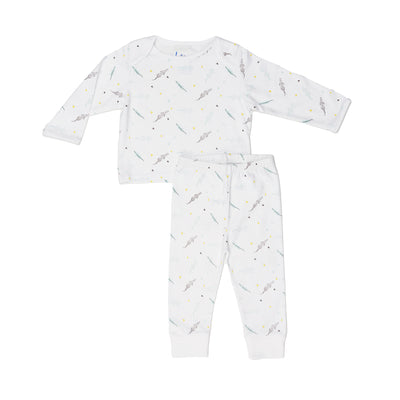Blue Croc Two Piece Set - Beezú Baby