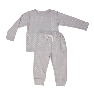Grey Criss Cross Two-Piece Set - Beezú Baby