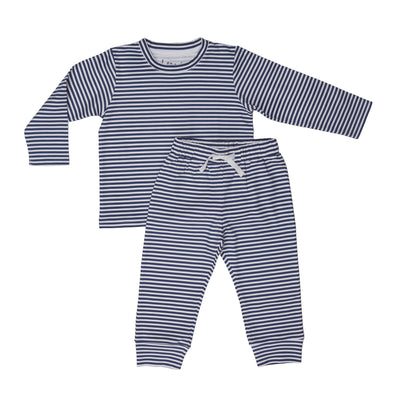 Blue Stripe Two Piece Set - Beezú Baby
