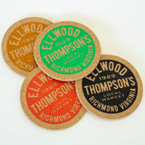 Natural Cork Coasters (4 pack)