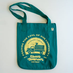 Organic Canvas Tote - Old-Timey Truck