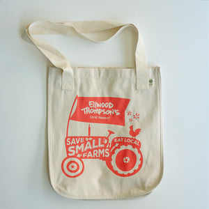 Organic Canvas Tote - Save Small Farms