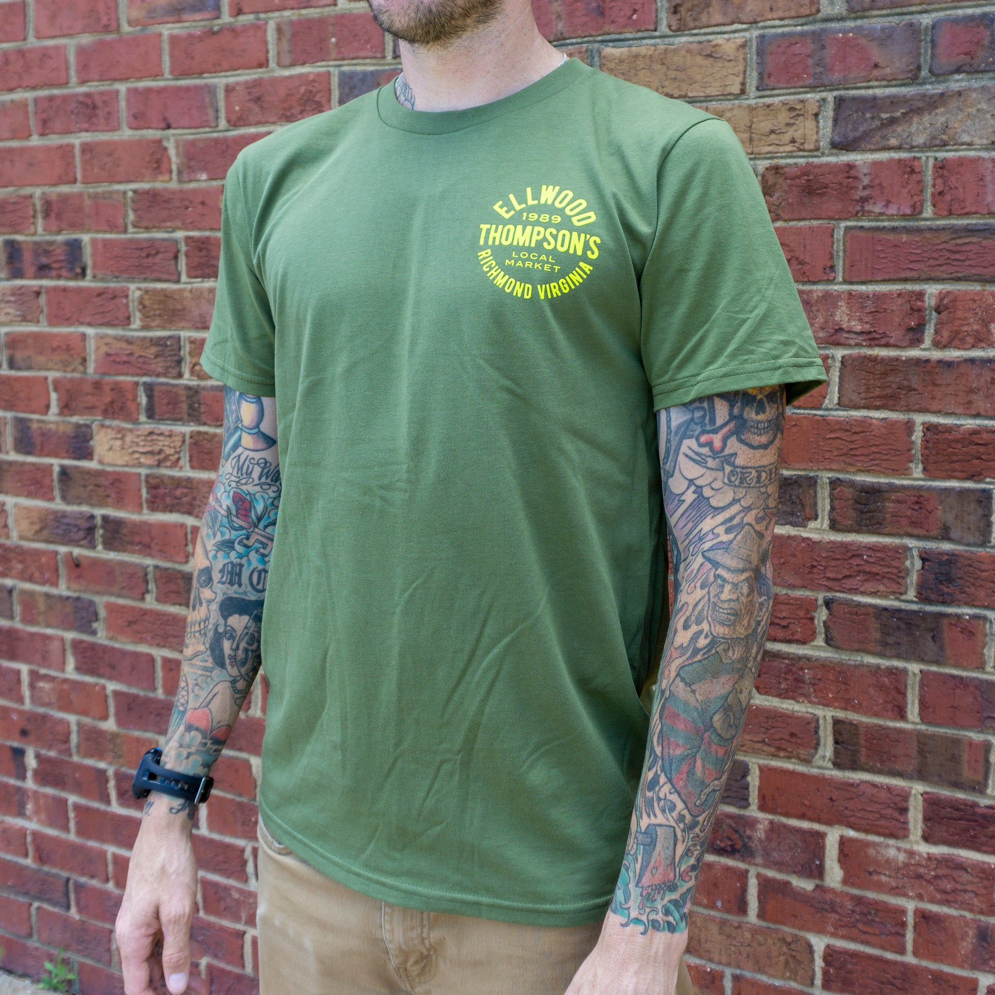 Organic Cotton T - Support Our Local Farmers