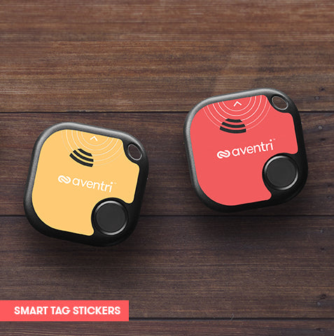 LOOPD Smart Tag stickers can be easily designed to match your event look and feel.