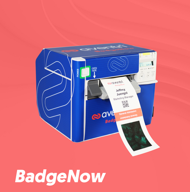 BadgeNow prints color badges on-demand and removes wait times.
