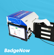 BadgeNow is ready to go and only needs to be plugged into power.