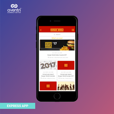Additional Events can be added to your Express App brand.