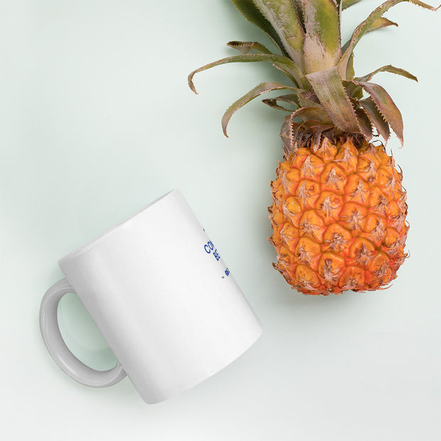 Aventri Blue/Black Connect Better Mug